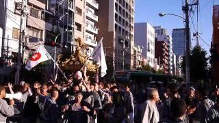 牛嶋神社のお祭り(2011)@四ツ目通り