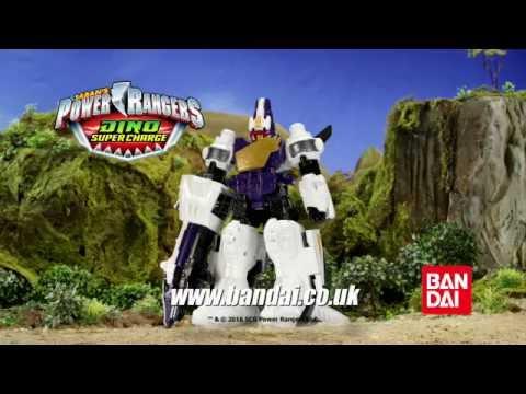 Power Rangers Dino Super Charge Deluxe Plesio Megazord