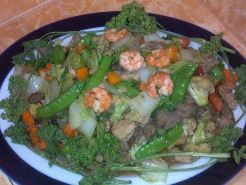 Chopsuey Pinoy style ( Chop suey )