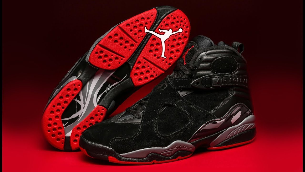 FIRST LOOK  Air Jordan 8  Bred   07f2909d9