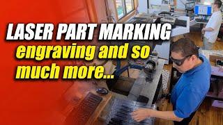 Commercial Part Marking, Laser Engraving, Etching & Ink Marking - CT Laser & Engraving