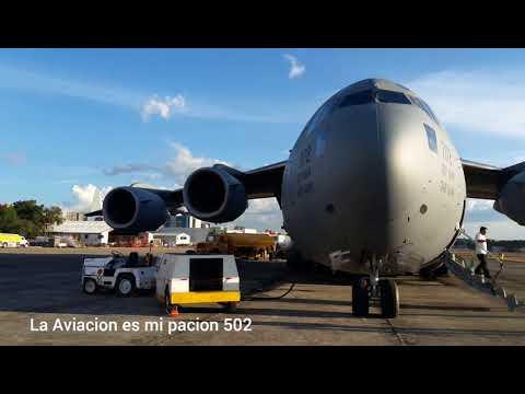 Spotter اميليو رويز una vista extrema del C-17 globe Master III