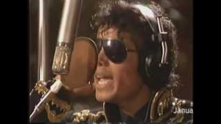 Michael Jackson - We Are The World + Recording Session + MJ talks about the process