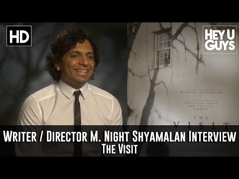 Director M.Night Shyamalan Interview - The Visit