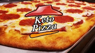 How To Make Keto Pizza | Keto Pizza Recipe | Fat Head Pizza