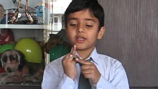 Parth Mishra, UKG (year 2012-13), Story Telling Competition, St Francis School Indirapuram