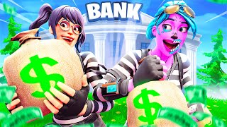 WE ROBBED A BANK...