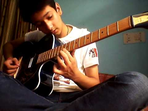 Tum hi ho -on guitar (single string ) quite easy for the beginners