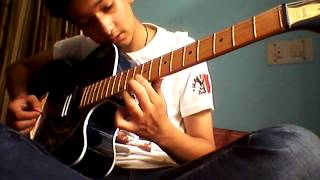 Tum hi ho -on guitar (single string ) quite easy for the beginners