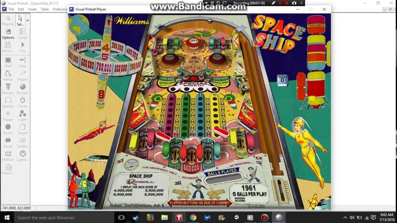 How To Play/Setup Virtual Pinball 9+ (tables and software)