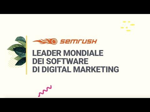 SEMrush: dove i bravi marketer diventano i migliori