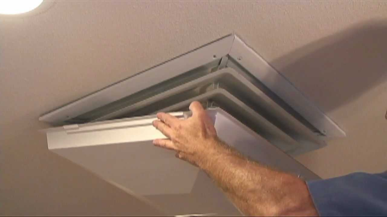 "how to install a ""draft dodger"" evaporative cooler diffuser winter"