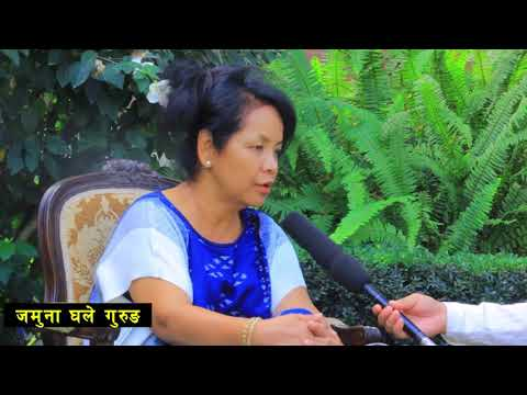 NRNA President Accreditation Jamuna Ghale Gurung Interview With KB Rana