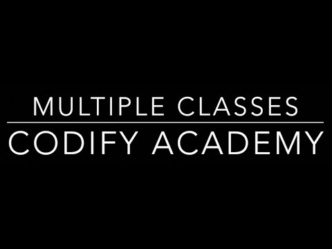 How to add and use multiple classes on a single HTML element