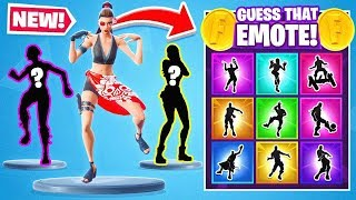 GUESS That RANDOM EMOTE in Fortnite Battle Royale