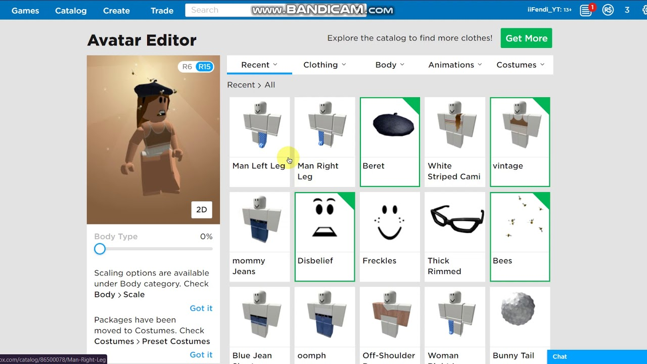 Roblox Proportions How To Get Fat Legs On Roblox For Free Super Easy Youtube
