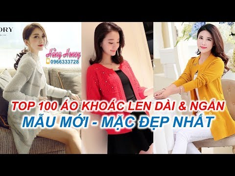 Top 100 Mẫu áo Khoác Len Nữ Cao Cấp đẹp Và Mới Nhất