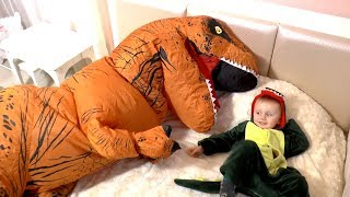 Are You Sleeping Brother John | Baby Songs with Funny Dinosaurs
