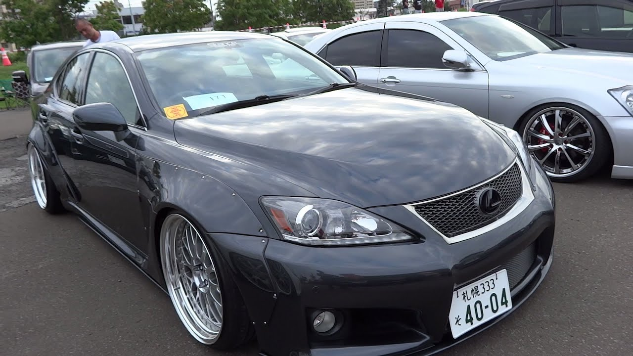 Lexus Isf 2015 >> LEXUS IS-F custom car レクサス IS-F カスタムカー - YouTube