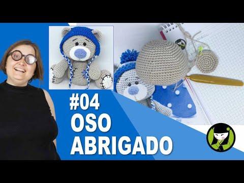 OSO NAVIDEÑO AMIGURUMI 04 oso tejido a crochet