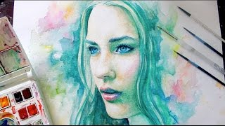 Speed Painting Watercolor : Spectrum