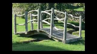 Garden Bridge I Garden Bridge Wooden