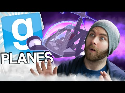 Gmod Planes - Ghost Pilot (Garrys Mod Build Challenge)