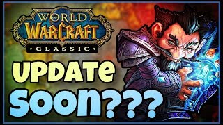 Classic WoW News - When is it COMING??? | BETA Speculation, Release prediction, Blue post
