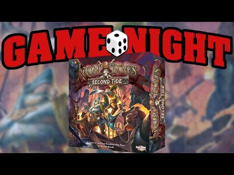Game Night with Funagain Games! - Rum & Bones: Second Tide