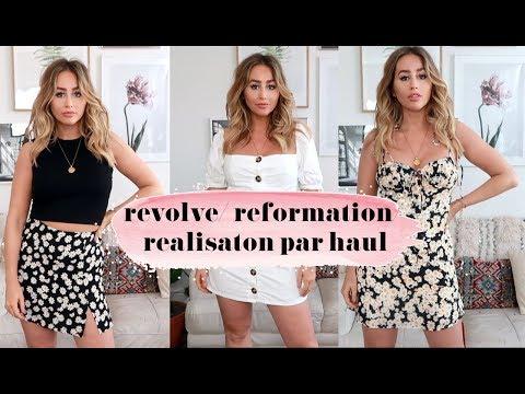 REVOLVE REFORMATION REALISATION PAR HAUL & TRY ON   Sophie Milner
