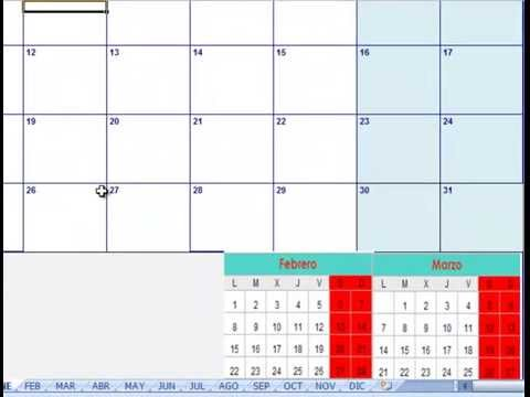 calendario 2016 para imprimir gratis calendario excel 2016 para ...