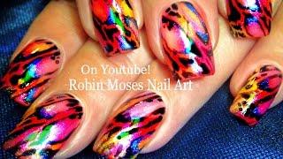 Nail Art | Diy Rainbow Wing Nails! Fun Butterfly Nail Design Tutorial