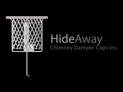 Hideaway Chimney Damper Cap Installation Youtube