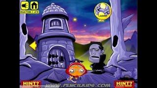 Monkey GO Happy NinjaHunt 2 Walkthrough Hints Pencilkids Game