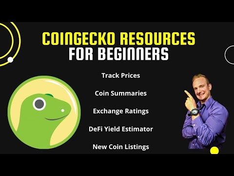 Cryptocurrency Resources for Beginners on CoinGecko!!