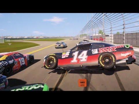 NASCAR Heat 2 - Crash Compilation (PS4 HD) [1080p60FPS]