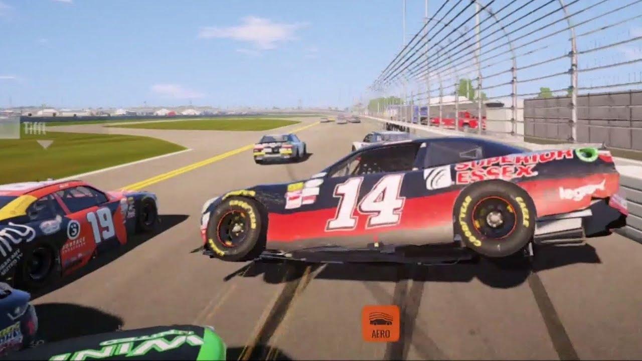 NASCAR Heat 2 - Crash Compilation (PS4 HD) [1080p60FPS] - YouTube