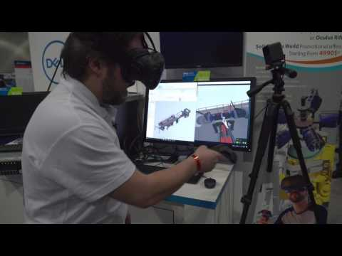 TechViz Shows Off the Power of VR for Product Design at SOLIDWORKS World 2017