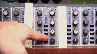 How to operate the Presonus ACP88 8-channel compressor/gate