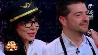 """Dj Wanda face spectacol la """"Chefi la cuțite""""! Bruneta sexy i-a eclipsat pe toți cu un preparat"""