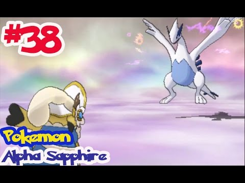 """Pokémon Alpha Sapphire - Ep38 จับ ลูเกีย """"lugia"""" โปเกม่อนในตำนาน แห่งเจ้าทะเล"""