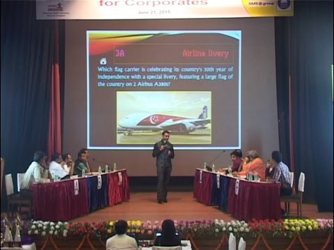 Udaan 2015: A Business Quiz for Corporates, hosted by Ajay Poonia: Part 1