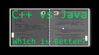 Speed Coding: Pong in C++ AND Java | Which is Better?