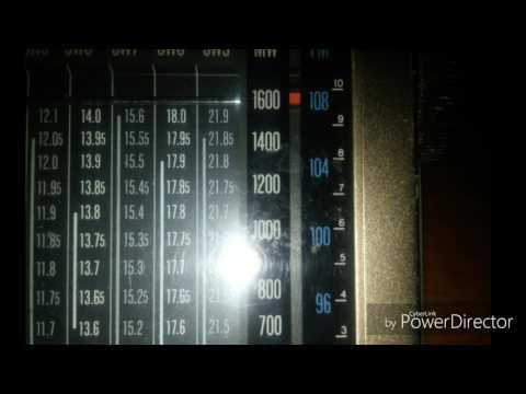 X-Band. Radio Caribbean Beacon 1610 kHz.(MW). Isla de Anguilla-The Valley- UK en Ultramar.
