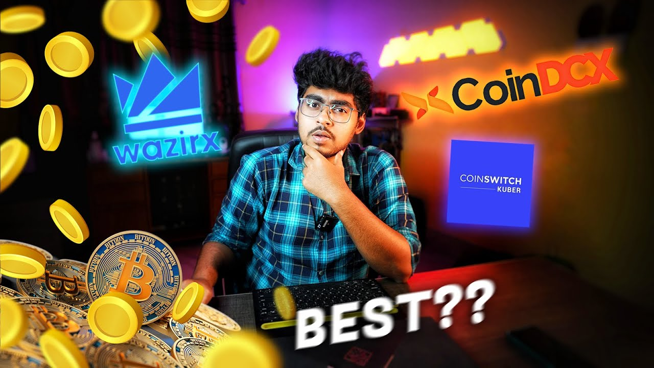 Top 3 Cryptocurrency Exchanger's Comparison in India 2021 |  Wazirx vs Coinswitch vs CoinDCX