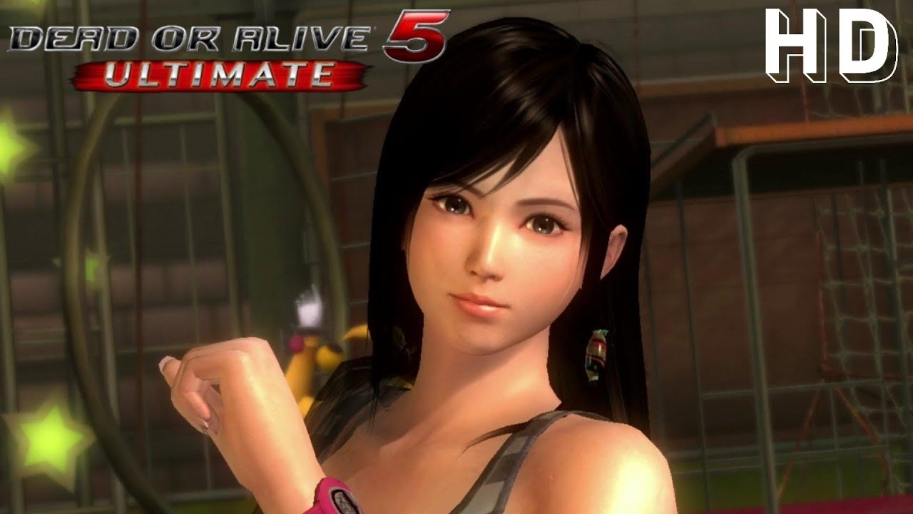 DOA5 Ultimate: Ayane vs Kokoro with the OMG Breast Motion ... Doa5 Ultimate Kokoro