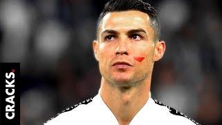 ¿Por qué Cristiano jugó con una mancha de pintura roja en la cara?