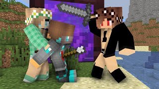Download Diamond man life 12 - Minecraft animations Mp3 and Videos