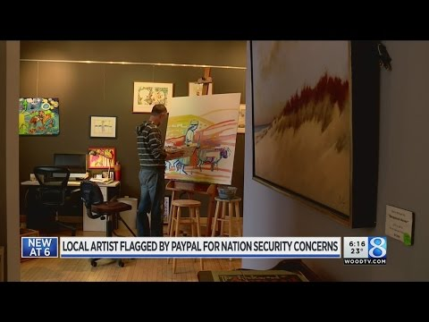 Holland man's Bible art flagged as security threat