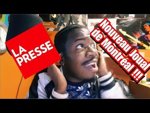 NOUVEAU JOUAL DE MONTRÉAL SELON JOURNAL LA PRESSE !!!